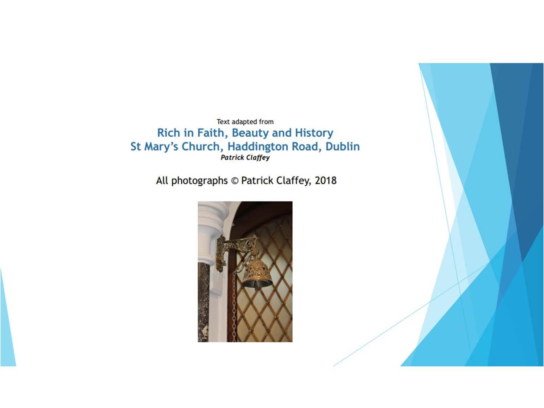Fr Pat Claffey - presentation - Slide 17
