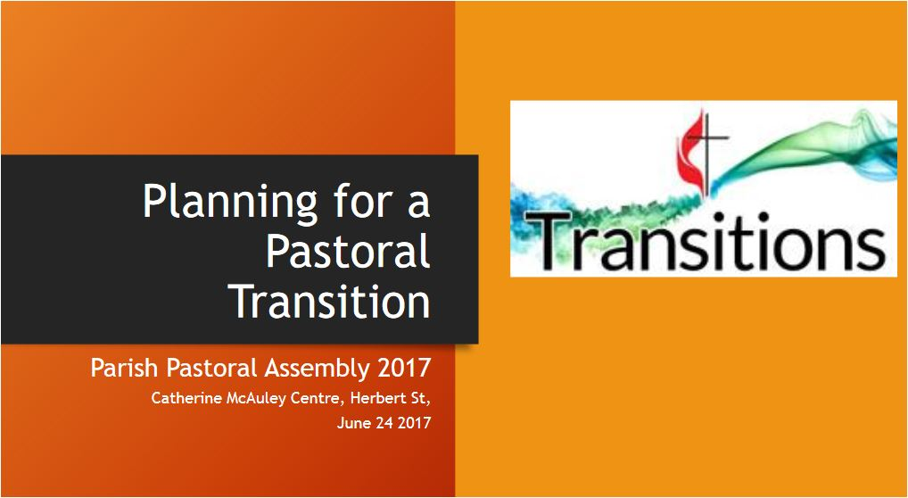 Planning for Pastoral Transition