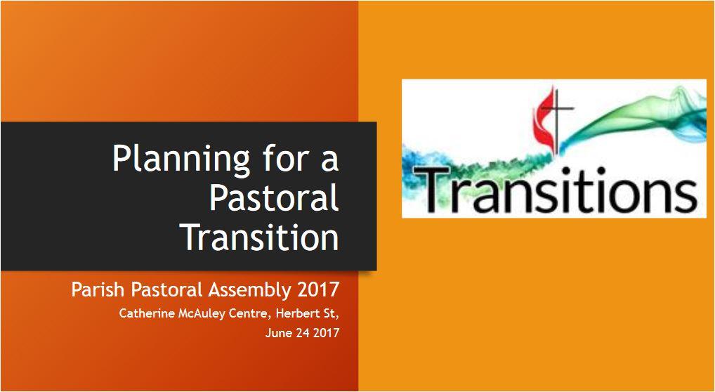 Planning for Pastoral Transition